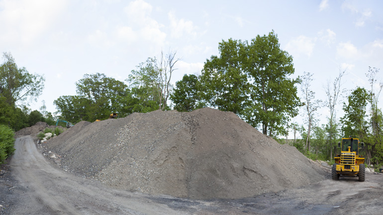Image of Gravel Mound