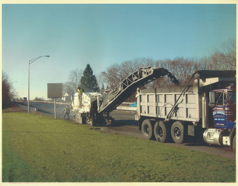 Image of Highway milling